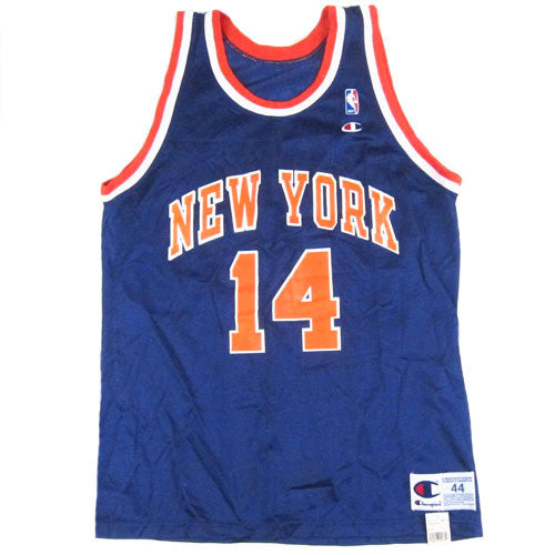 Vintage Anthony Mason New York Knicks Champion Jersey