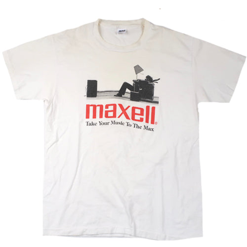 "Vintage Maxell ""Blown Away Guy"" T-shirt"