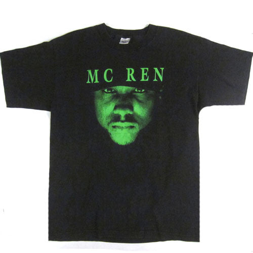 Vintage Mc Ren The Villian In Black T-Shirt