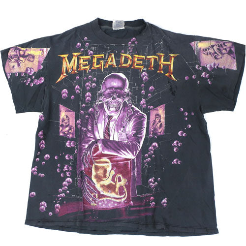 Vintage Megadeth Rust In Peace T-Shirt