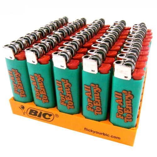 "For All To Envy ""Menthol"" Bic Mini Lighters"