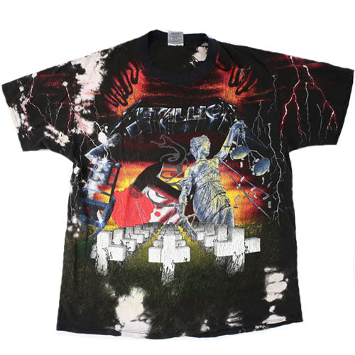 ee9513569 Vintage Metallica T-shirt 1991 Tour Rock – For All To Envy