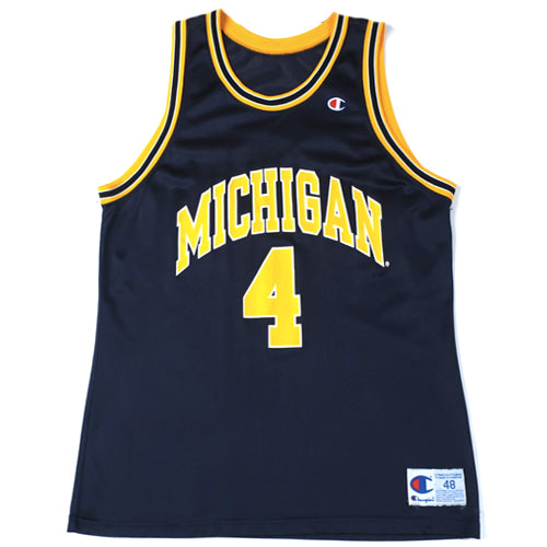 Vintage ChrisWebber Michigan Wolverines Champion Jersey