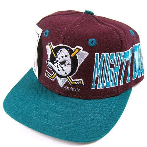 Vintage Anaheim Mighty Ducks Snapback Hat NWT