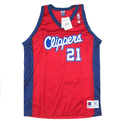 Vintage Darius Miles Los Angeles Clippers Champion Jersey
