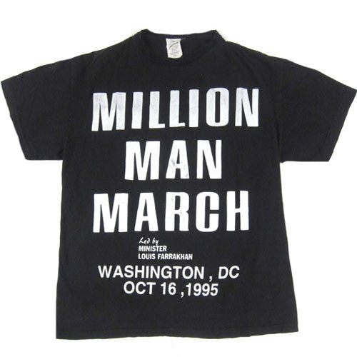 Vintage Million Man March T-shirt