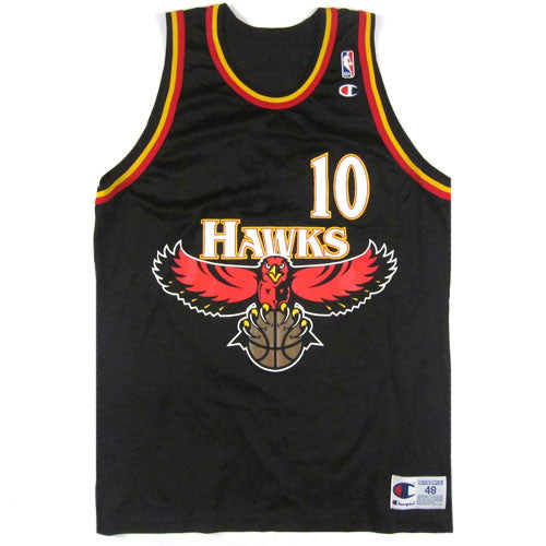 sale retailer 1a066 26821 where to buy atlanta hawks vintage jersey 74814 1b493