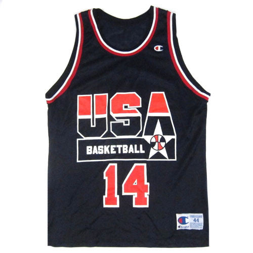 Vintage Alonzo Mourning 1994 USA Champion Jersey