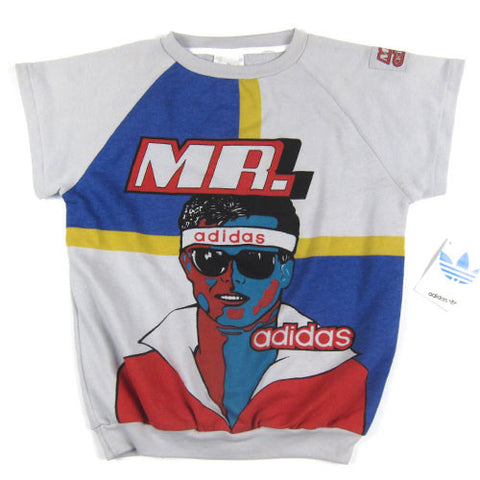 Vintage Jim McMahon Mr Adidas Sweatshirt