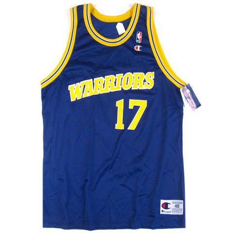 Vintage Chris Mullin Golden State Warriors Champion Jersey
