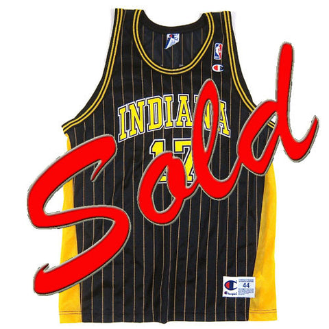 Vintage Chris Mullin Indiana Pacers Champion Jersey