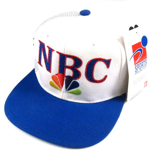 fe8374c7cf3 Vintage NBC Sports Sports Specialties Snapback Hat NWT 90s – For All ...