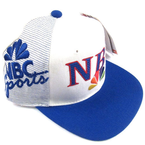 b2dc0ebed1c Vintage NBC Sports Sports Specialties Snapback Hat NWT 90s – For All To Envy