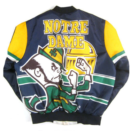 Vintage Notre Dame Fighting Irish Chalk Line Jacket