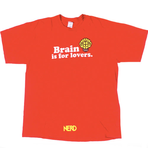 Vintage N.E.R.D. Brain is for Lovers T-Shirt