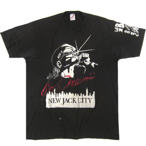 Vintage New Jack City Soundtrack T-shirt