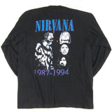 Vintage Nirvana Long Sleeve T-Shirt