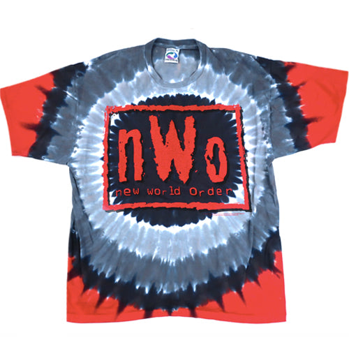 Vintage NWO New World Order Tie Dye T-Shirt