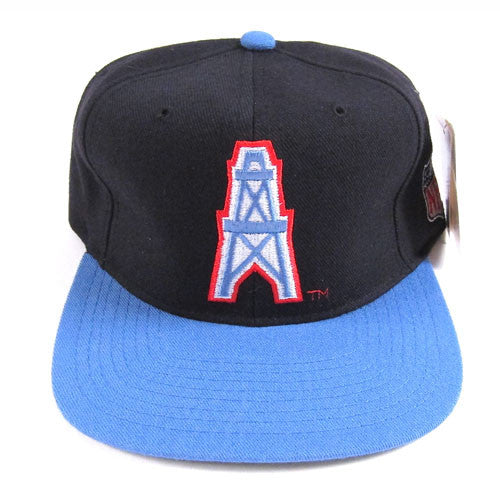 Vintage Houston Oilers Starter Snapback Hat NWT NFL Football 90s deadstock  – For All To Envy f732acf73e1