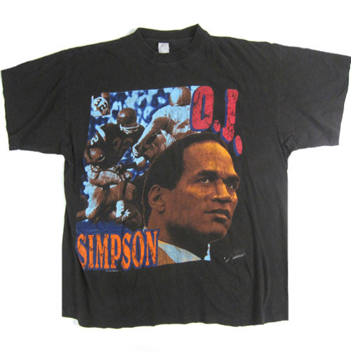 Vintage OJ Simpson Guilty or Not? T-Shirt