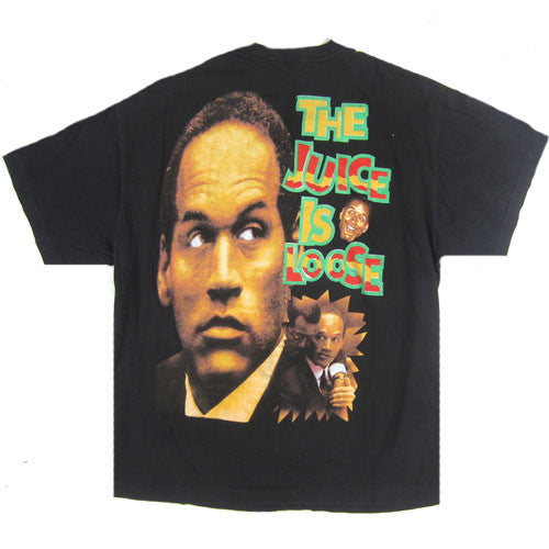 Vintage OJ Simpson The Juice Is Loose T-Shirt – For All To ...