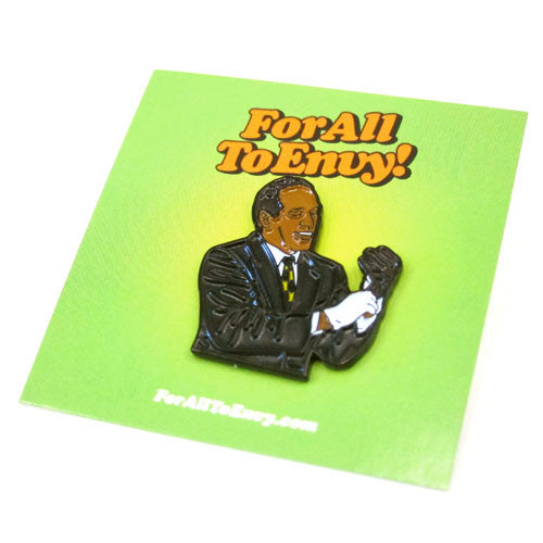 "For All To Envy ""Orenthal James"" Lapel Pin"