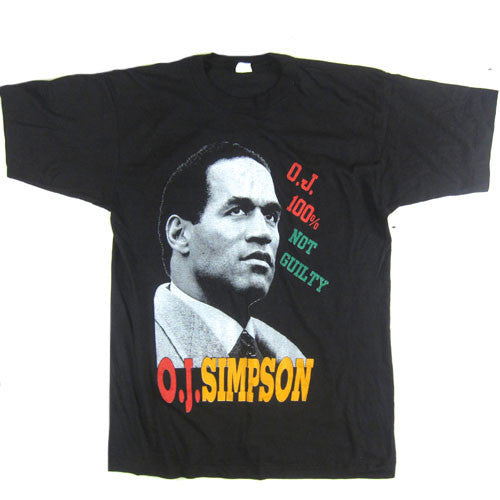 Vintage OJ Simpson Wanted T-Shirt