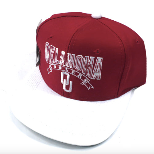 Vintage Oklahoma Sooners The Game Snapback Hat 742c471145e