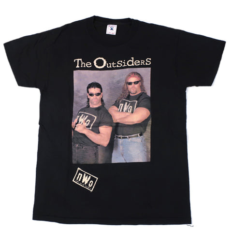 Vintage The Outsiders Scott Hall Kevin Nash T-Shirt