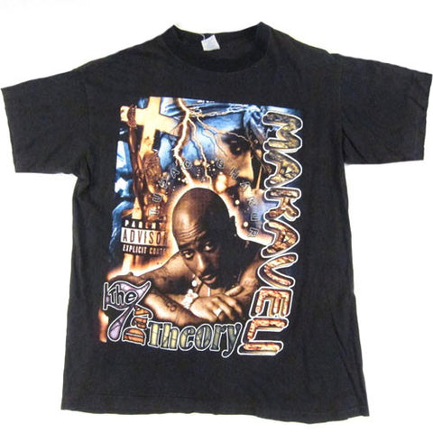 Vintage Tupac Shakur 2Pac The 7 Day Theory  T-Shirt