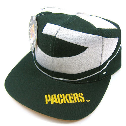 Vintage Green Bay Packers The game Big Logo Snapback Hat NWT