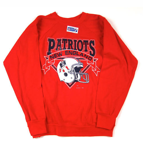 Vintage New England Patriots Crewneck Sweatshirt NWT NFL Football Brady –  For All To Envy ec26c883f4a7