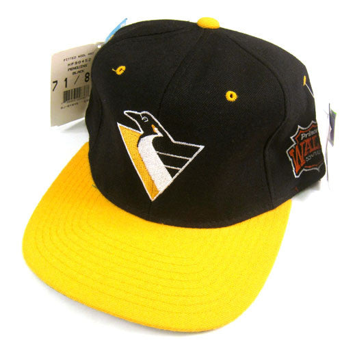 Vintage Pittsburgh Penguins Starter Fitted Hat NWT