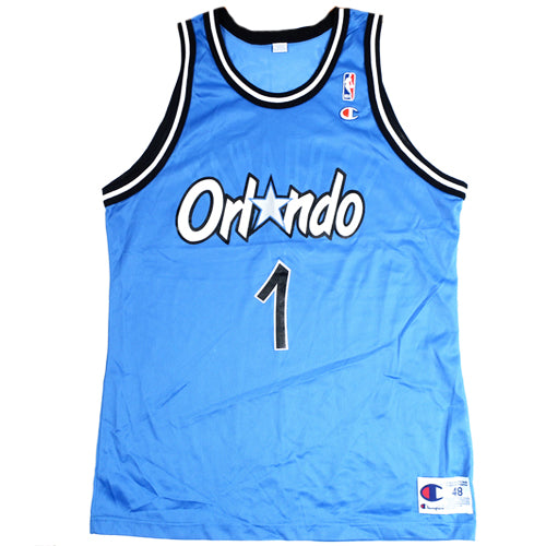 Vintage Penny Hardaway Orlando Magic Champion Jersey