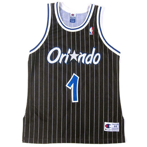 Vintage Penny Hardaway Authentic Orlando Magic Champion Jersey