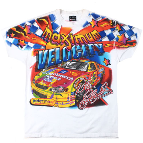 ed4fdc1b Vintage Pater Max Dale Earnhardt Nascar T-shirt 90s Racing – For All To Envy