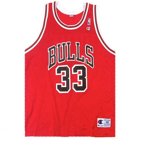 Vintage Scottie Pippen Chicago Bulls Champion Jersey
