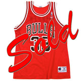 Vintage Scottie Pippen Chicago Bulls Champion Jersey NWOT