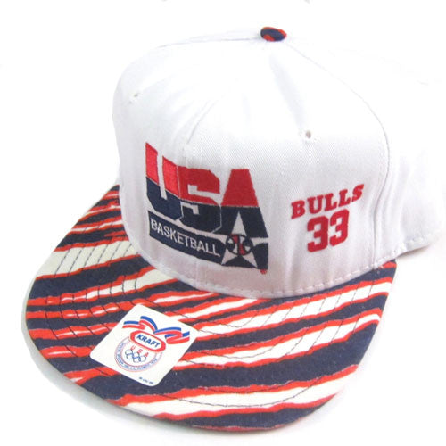 Vintage Scottie Pippen USA Dream Team Snapback Hat