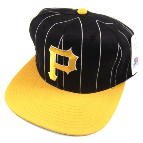 Vintage Pittsburgh Pirates Starter Snapback Hat NWT