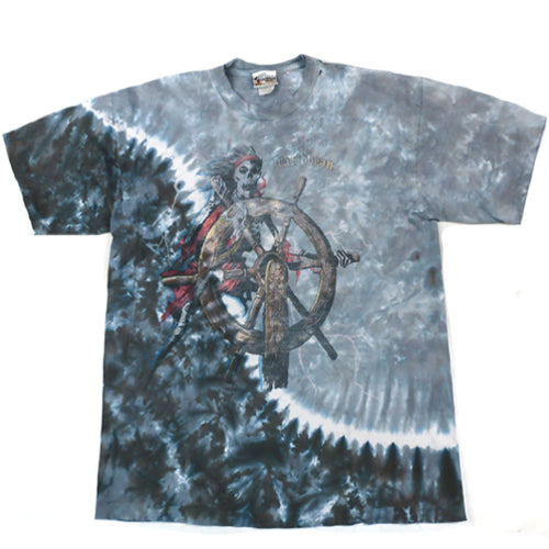 Vintage Pirates of the Caribbean Tie Dye T-shirt
