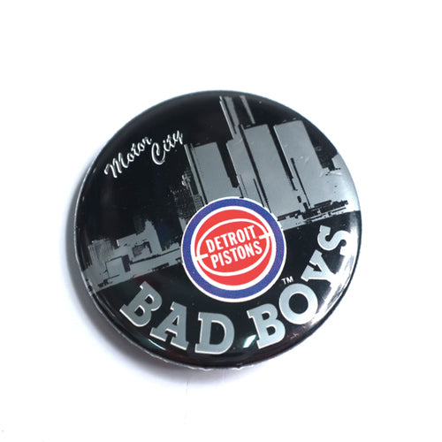 Vintage Detroit Pistons Bad Boys Button
