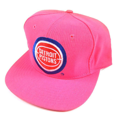 Vintage Detroit Pistons Neon Snapback Hat NWT