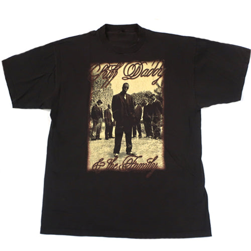 Vintage Puff Daddy No Way Out Tour t-shirt