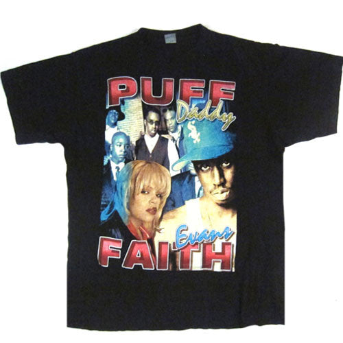 Vintage Puff Daddy Faith Evans I'll Be Missing You T-Shirt