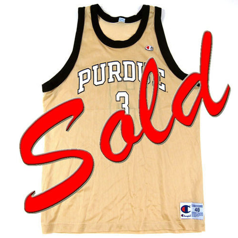 Vintage Chad Austin Purdue Boliermakers Jersey