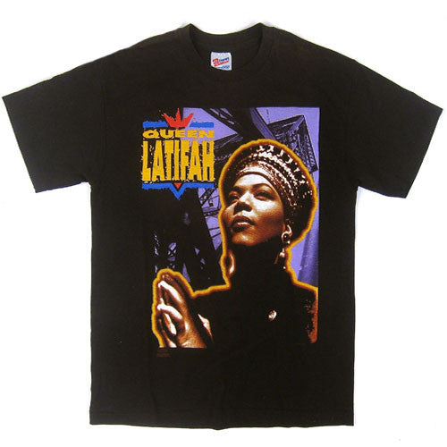 Vintage Queen Latifah 1991 Nature Of A Sista T-shirt