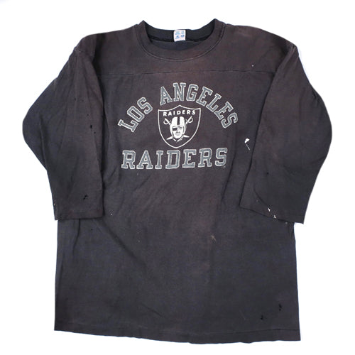 Vintage Los Angeles Raiders 3/4 Sleeve T-shirt