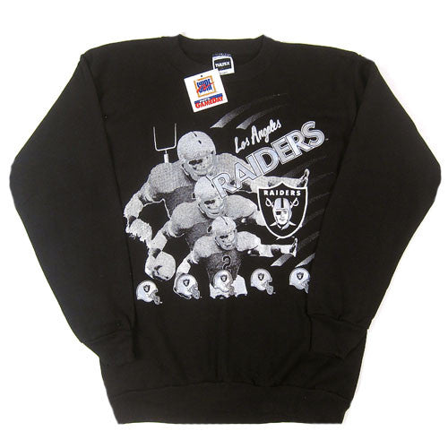 Vintage LA Los Angeles Raiders Crewneck Sweatshirt NWT