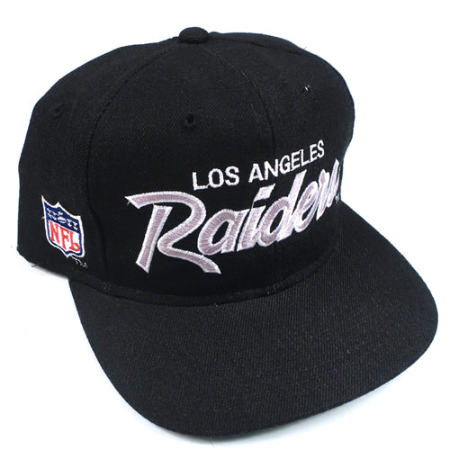 Vintage Los Angeles Raiders Script Snapback